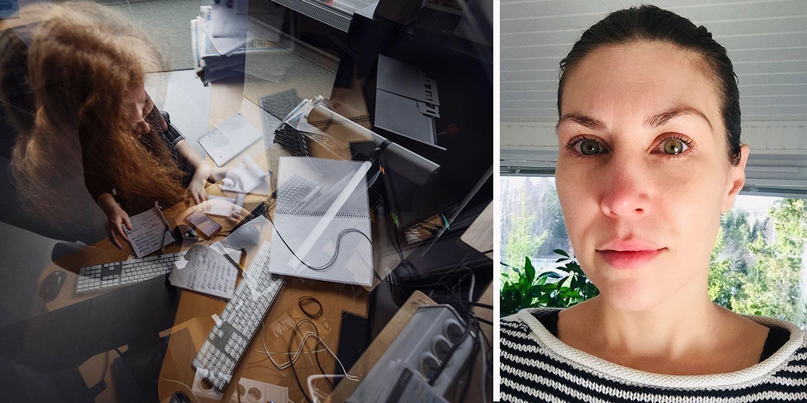 Karolina Kaplan blev utbränd av jobbet, med ångestattacker och depression som direkt resultat.