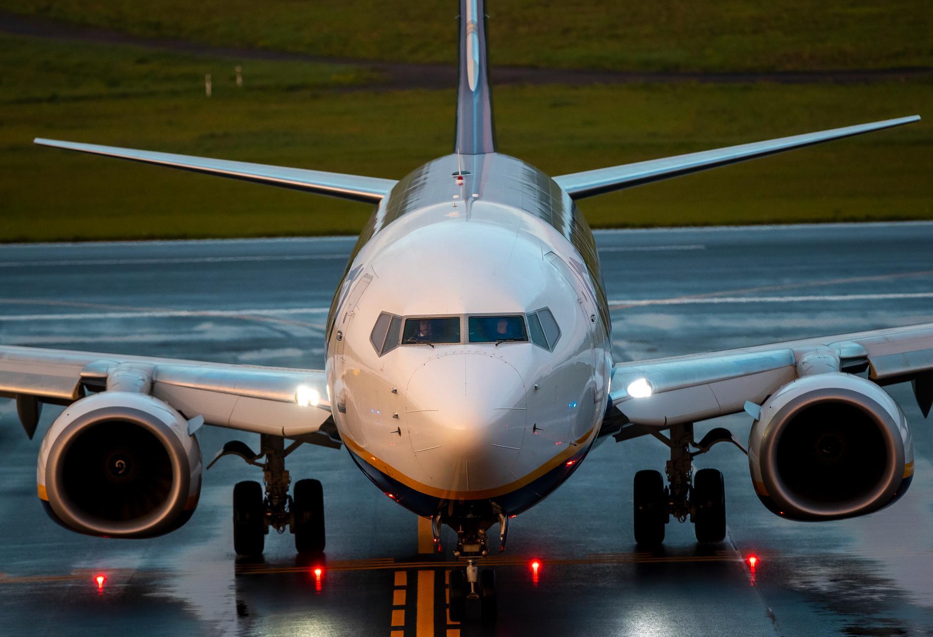 Ryanair-planet som reste från Aten till Vilnius och tvingades landa i Minsk efter ett bombhot – som visade sig vara falskt.