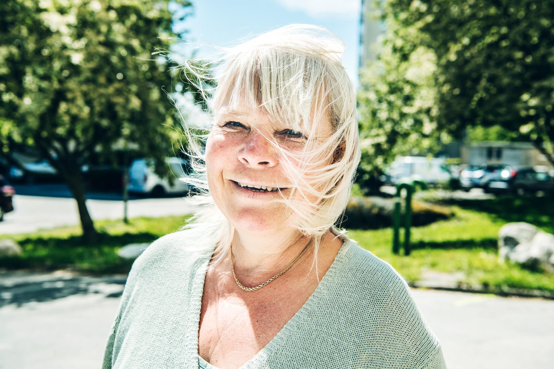 Skådespelaren Anki Larsson är död.