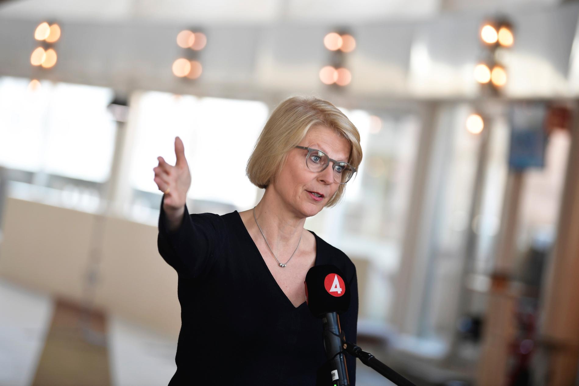 Moderaternas ekonomisk-politiska talesperson Elisabeth Svantesson. Arkivbild.