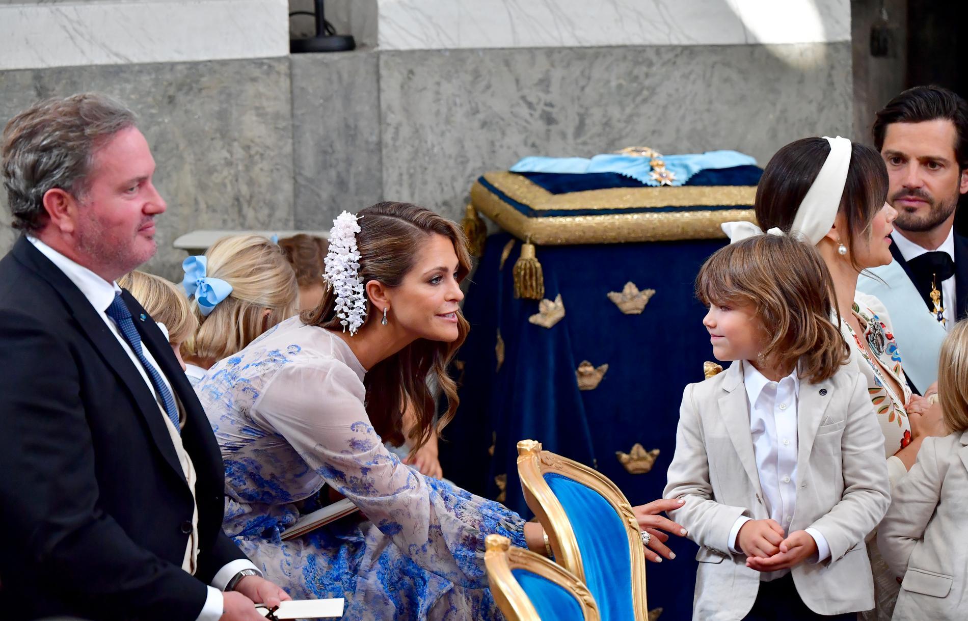 Christopher O'Neill, prinsessan Madeleine och prins Alexander.