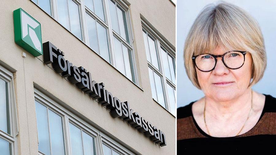 Ideologiska låsningar kan inte få stå i vägen för en socialförsäkring som måste fungera när den väl behövs. Systemet har kollapsat – och det är ni politiker ytterst ansvariga för. Vad tänker ni göra? skriver Elisabeth Wallenius.