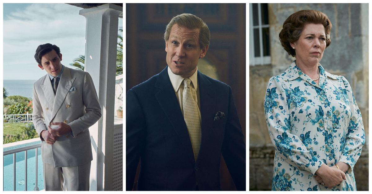 """Britterna Josh O'Connor, Tobias Menzies och Olivia Colman vann priser för sina insatser i Netflix """"The crown""""."""