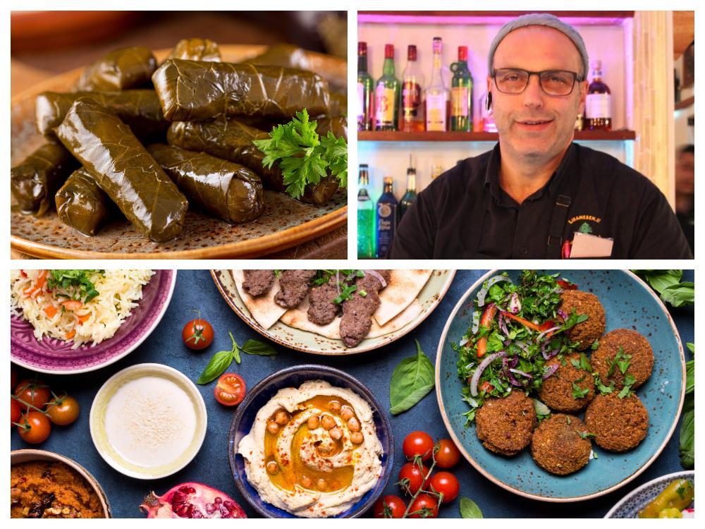 Libanesisk mat är en blandning mellan arabisk, turkisk och fransk matkultur.