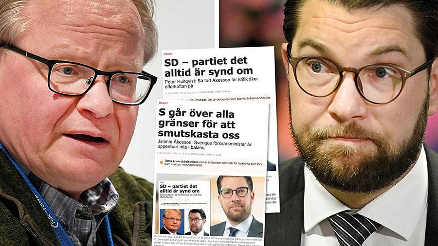 Med den övriga högern ska SD sänka skatten för de rika, driva privatiseringar, värna vinster i välfärden och driva på för att människor ställs emot varandra. Mitt Sverige omfattar alla svenska medborgare. Det gör inte ditt, Åkesson. Slutreplik från Peter Hultqvist.