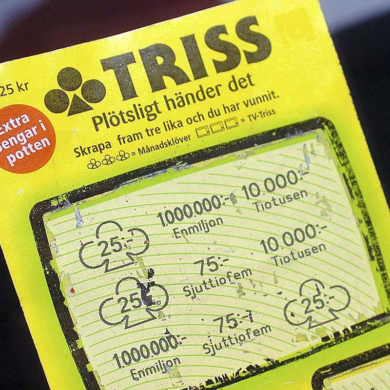 Så här såg den stulna lotten ut som en snattare fick med sig från Icabutiken i Bjästa 2004.