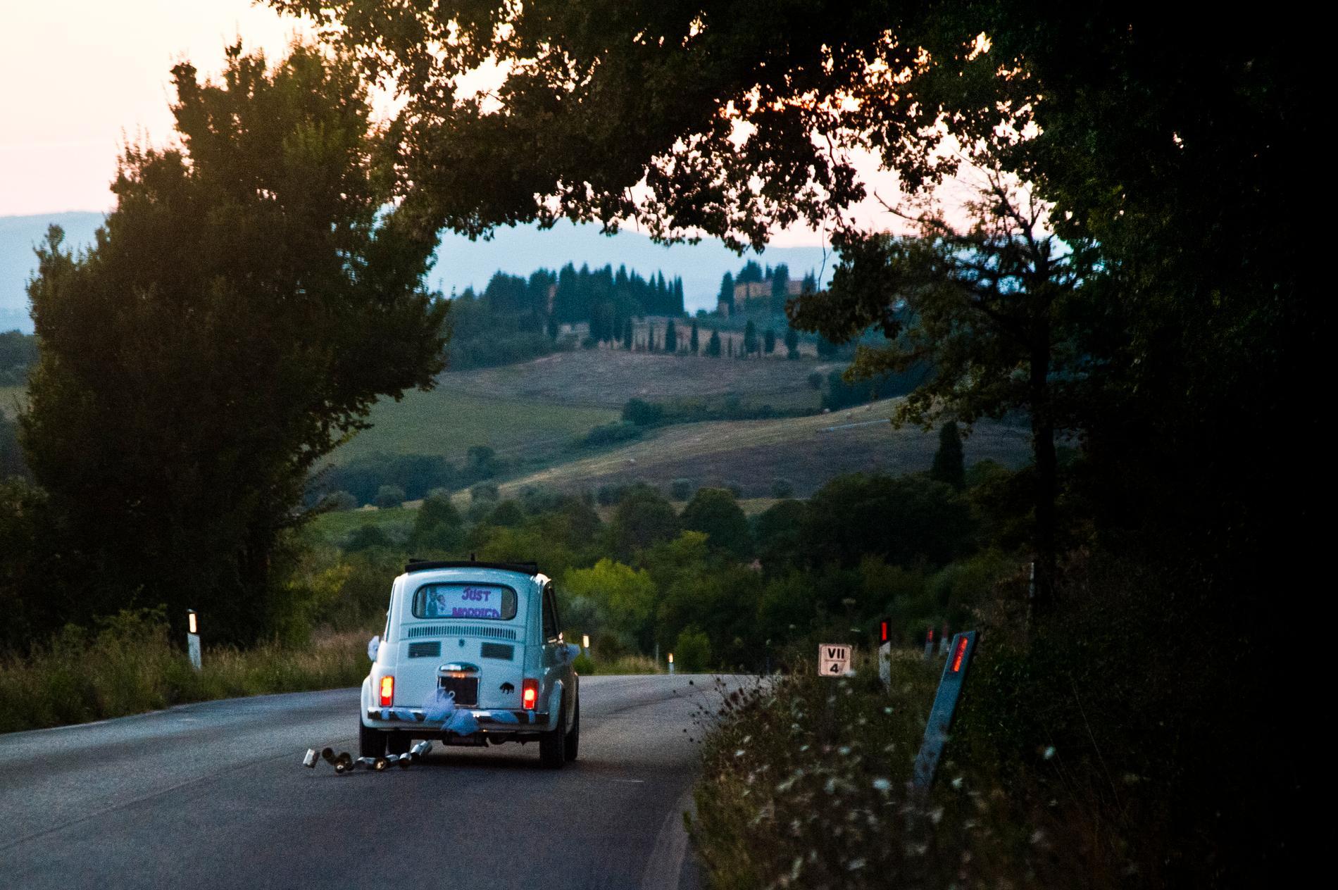 Många väljer att gifta sig i Toscana.