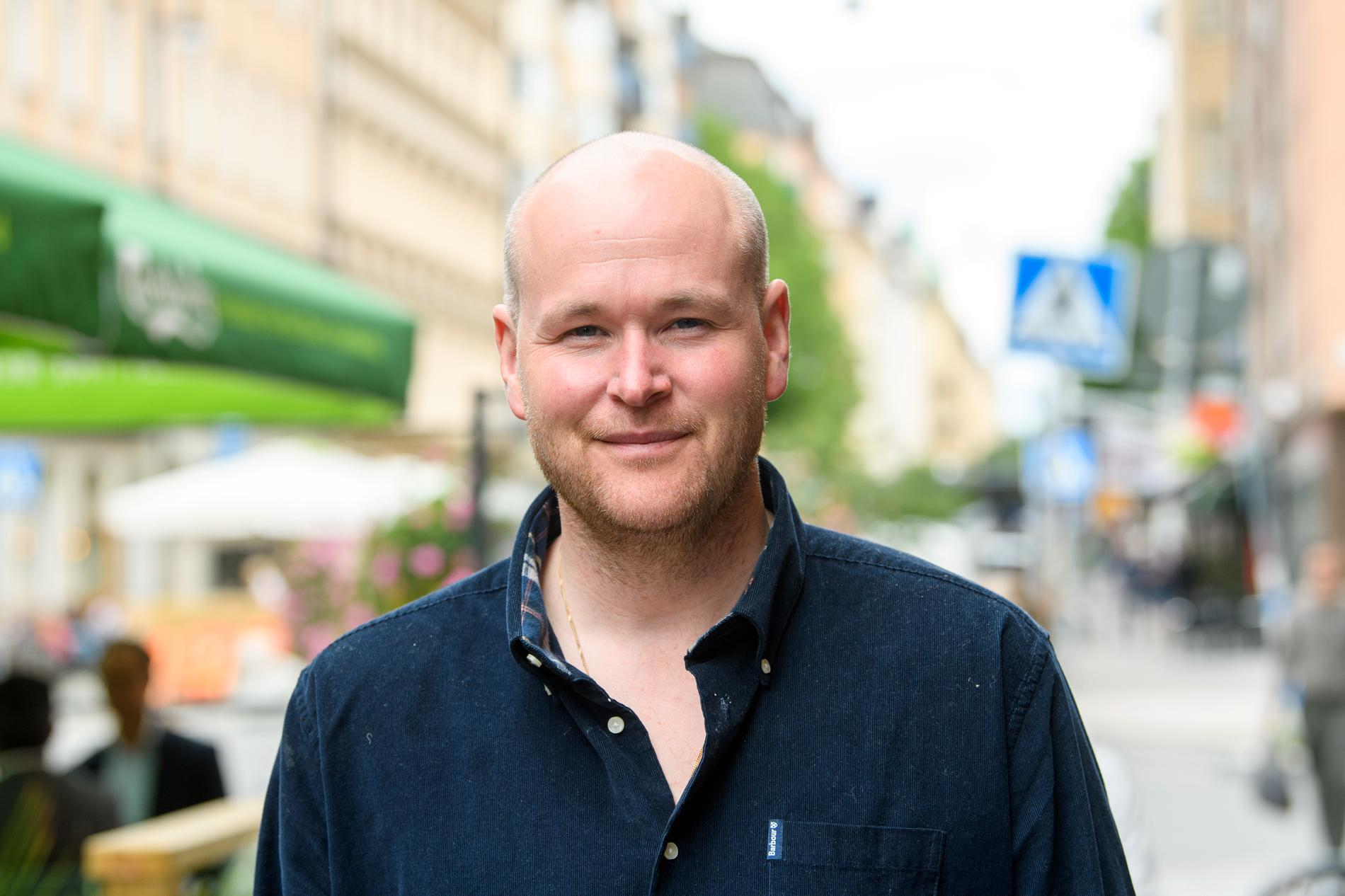 Köksmästaren och entreprenören Johan Jureskog.