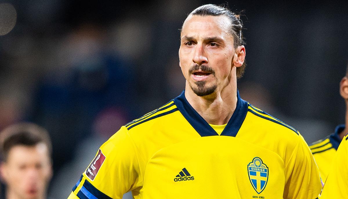 Zlatan gjorde landslagscomeback mot Georgien den 25 mars