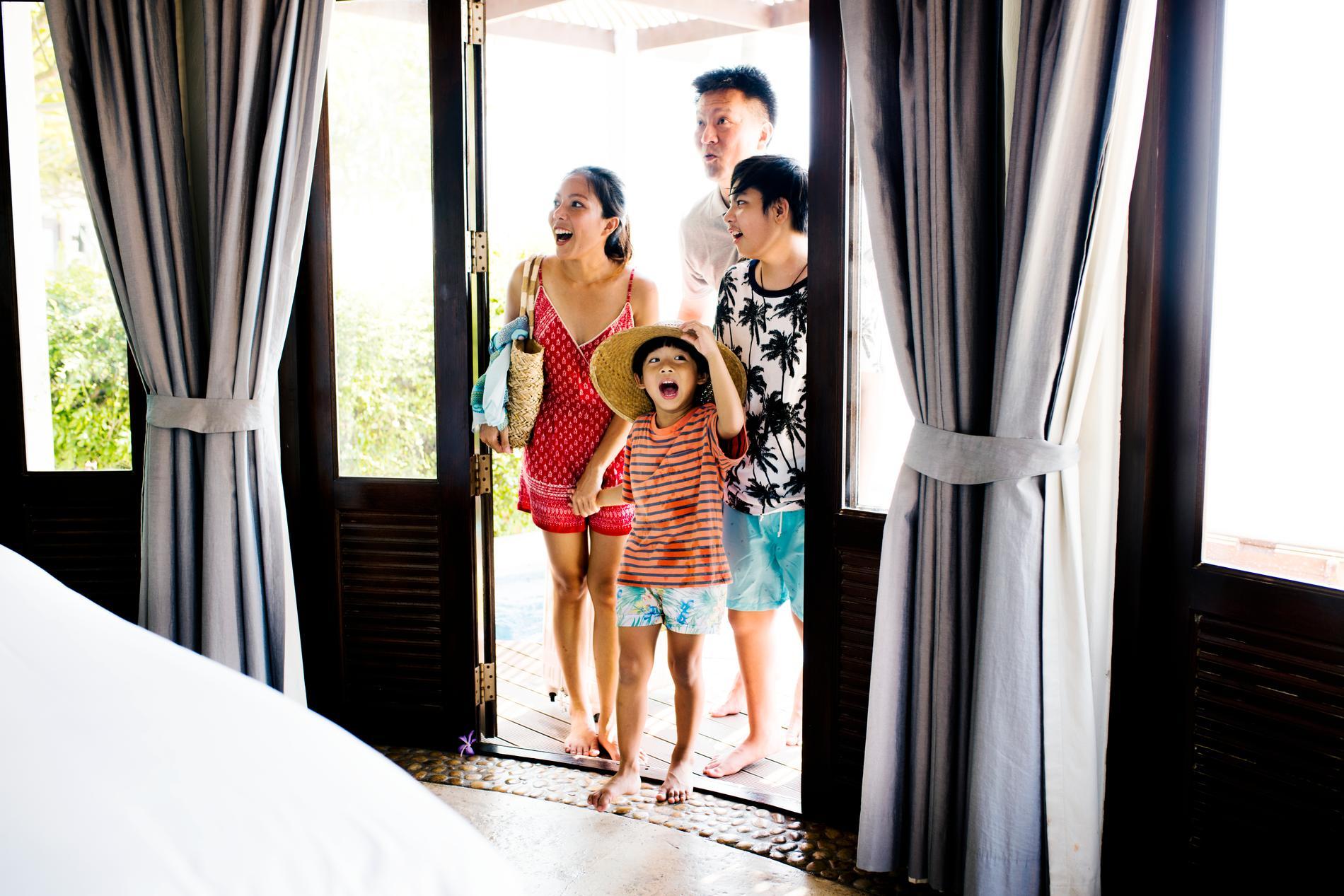 Här är hotellen som familjen älskar.