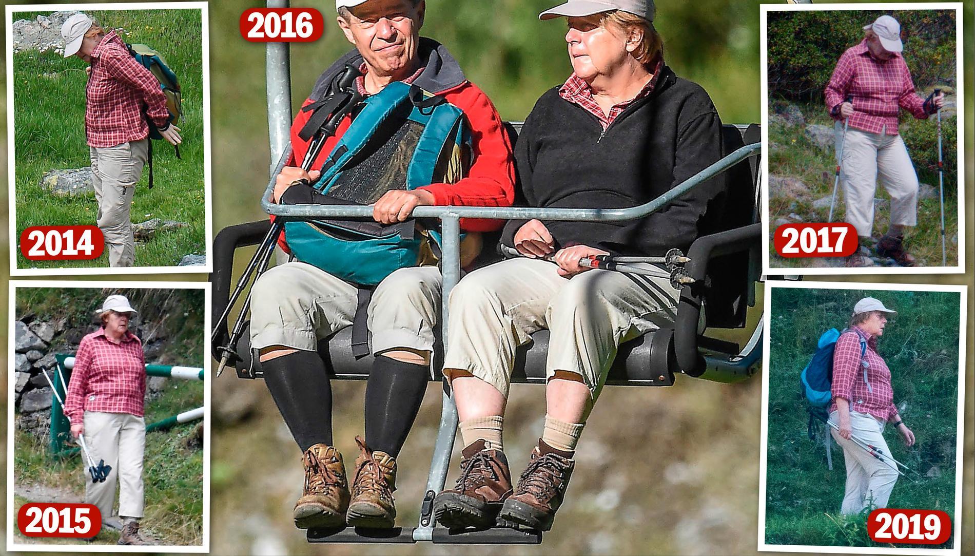 Angela Merkel är en vanemänniska vilket syns i hennes kläder.