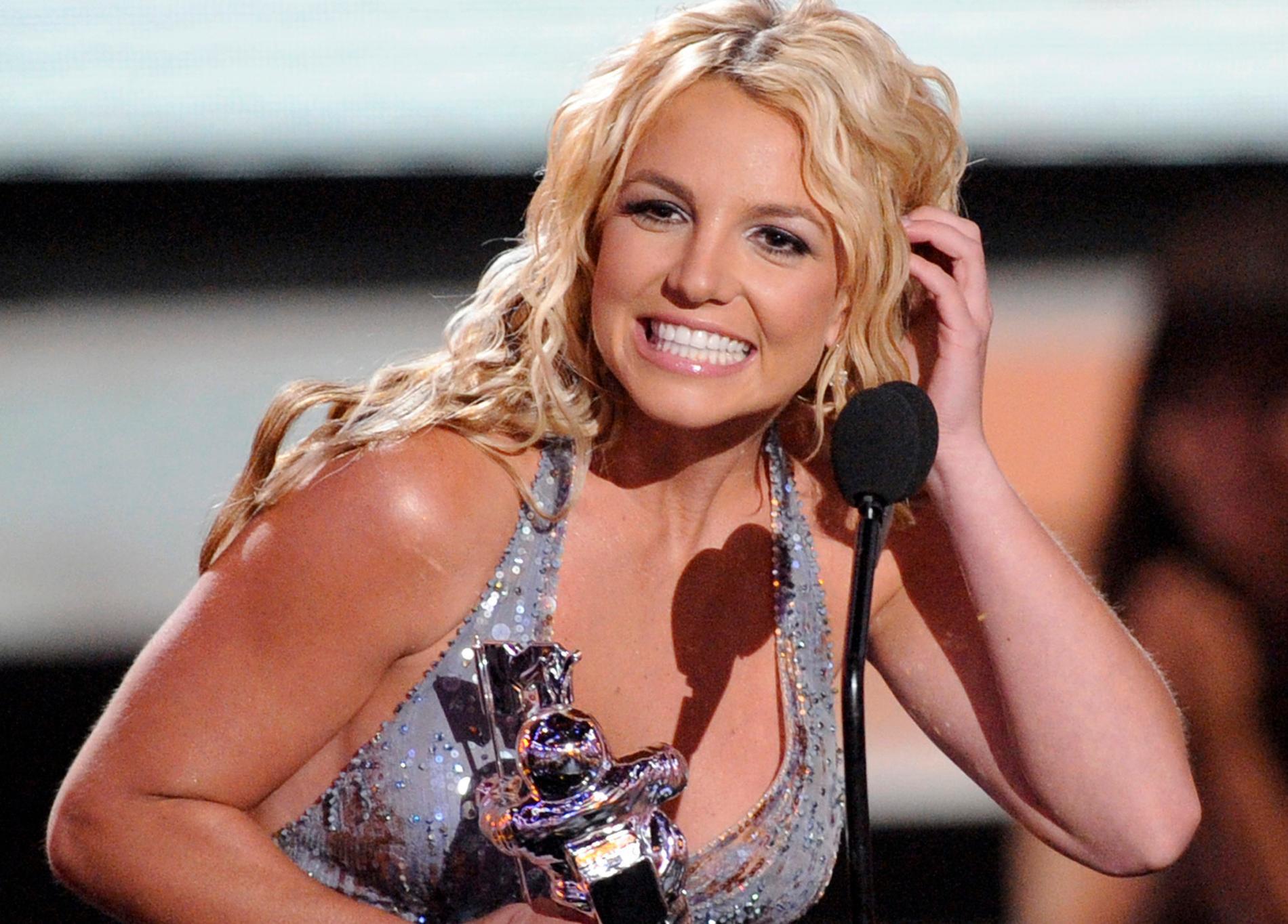 Dags för Britney att bli hyllad.