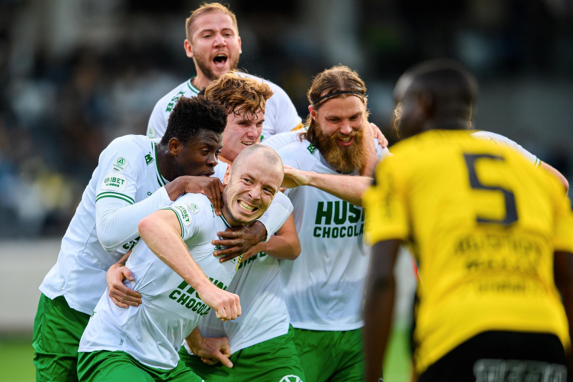 Fjoluson gjorde Hammarbys mål.