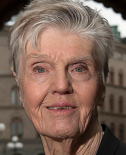 Barbro Westerholm, 85, riksdagsledamot för Liberalerna och ledamot i Smer.