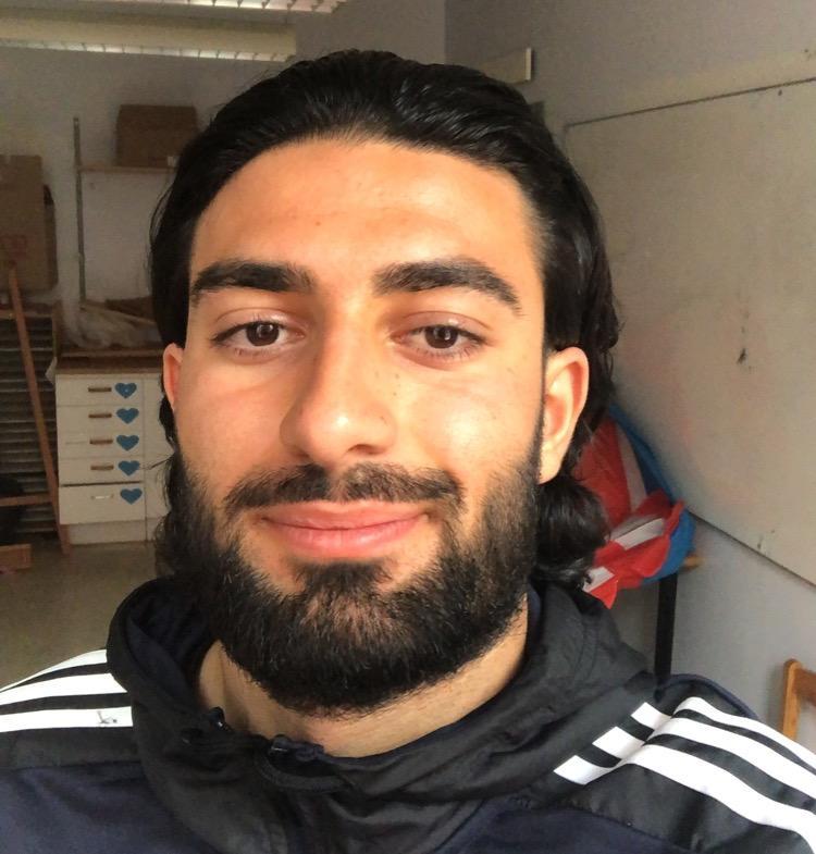 Daniel Zamani, en av initiativtagarna till Vi Dom Unga.