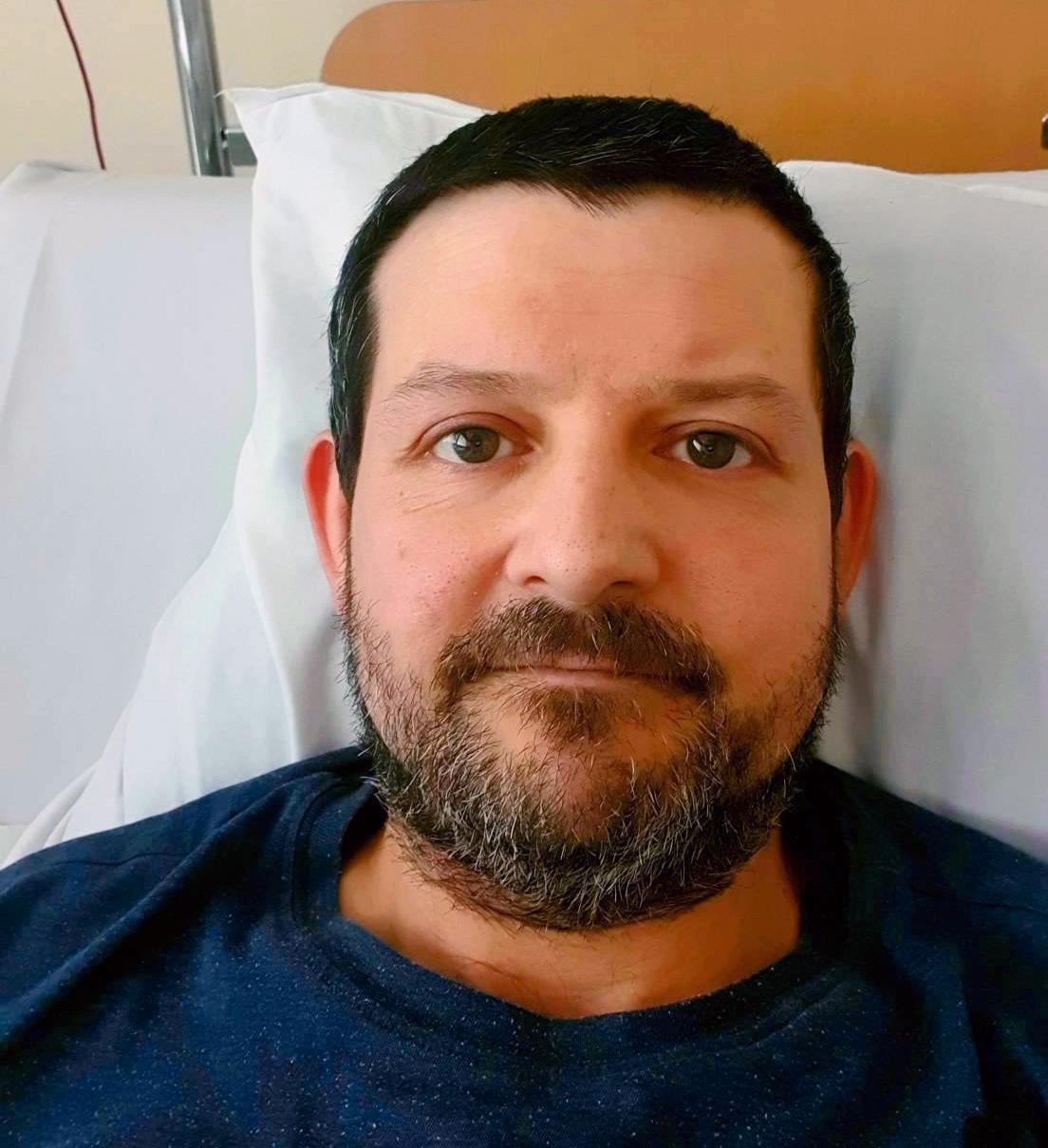 Krisztian Balogh fick flera blodproppar i magen.