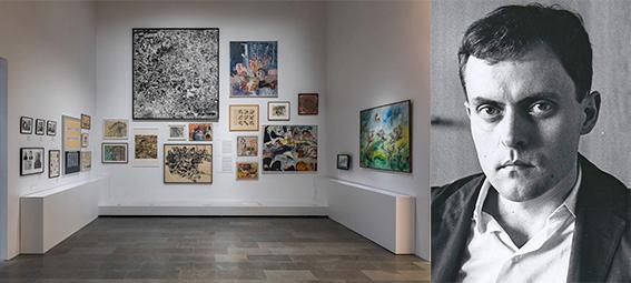 """Utställningen """"Party for Öyvind"""" på Sven-Harrys konstmuseum formar sig till ett jättelikt montage över hans nätverk och vänner världen över."""