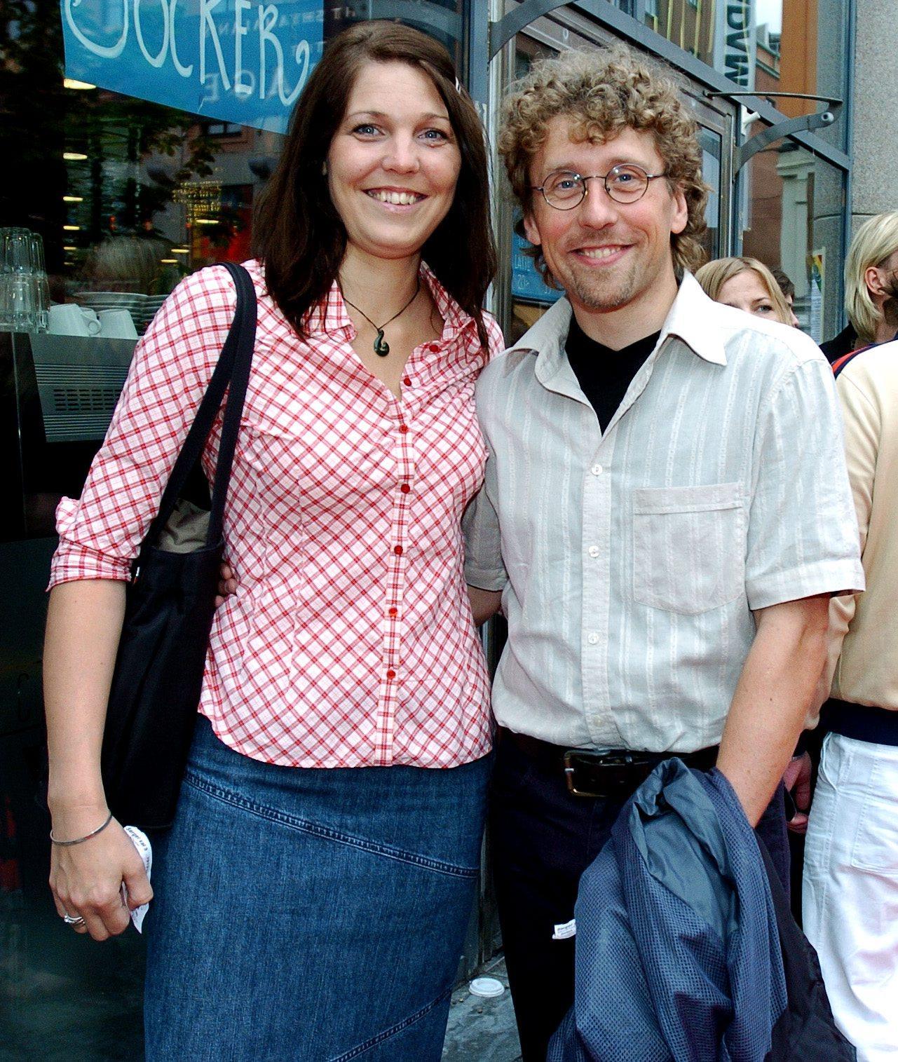 Pererik Åberg tillsammans med frun Helene Åberg.