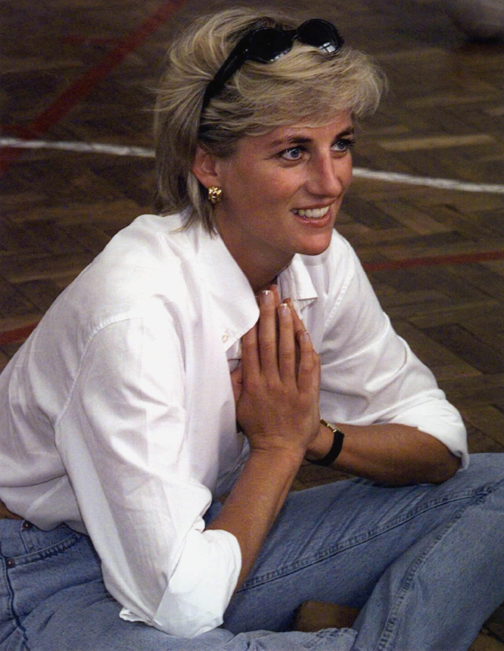 Prinsessan Diana 1997.