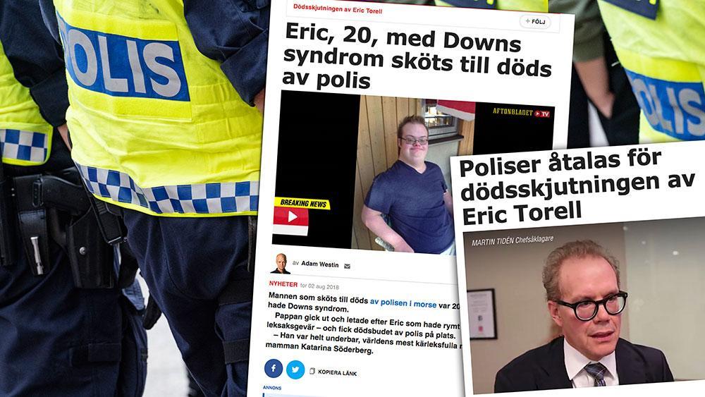 Eric Torell med Downs syndrom blev skjuten till döds av polisen 2018. Hade polisen uppfattat situationen på ett annat sätt om de hade haft bättre kunskap om personer med IF? Det vet vi inte. Men en sak vet vi – utan bättre kunskap om vår grupp, kommer personer med våra diagnoser att vara väldigt utsatta, skriver debattörerna.