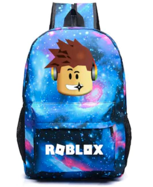 Ryggsäck med Roblox-motiv.