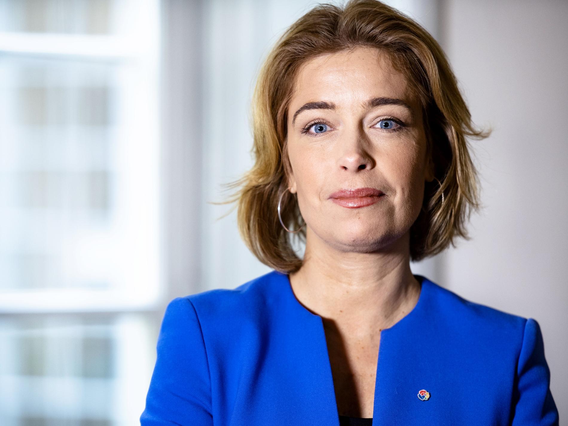 Annika Strandhäll är riksdagsledamot, tidigare statsråd och talesperson i jämställdhetsfrågor (S).