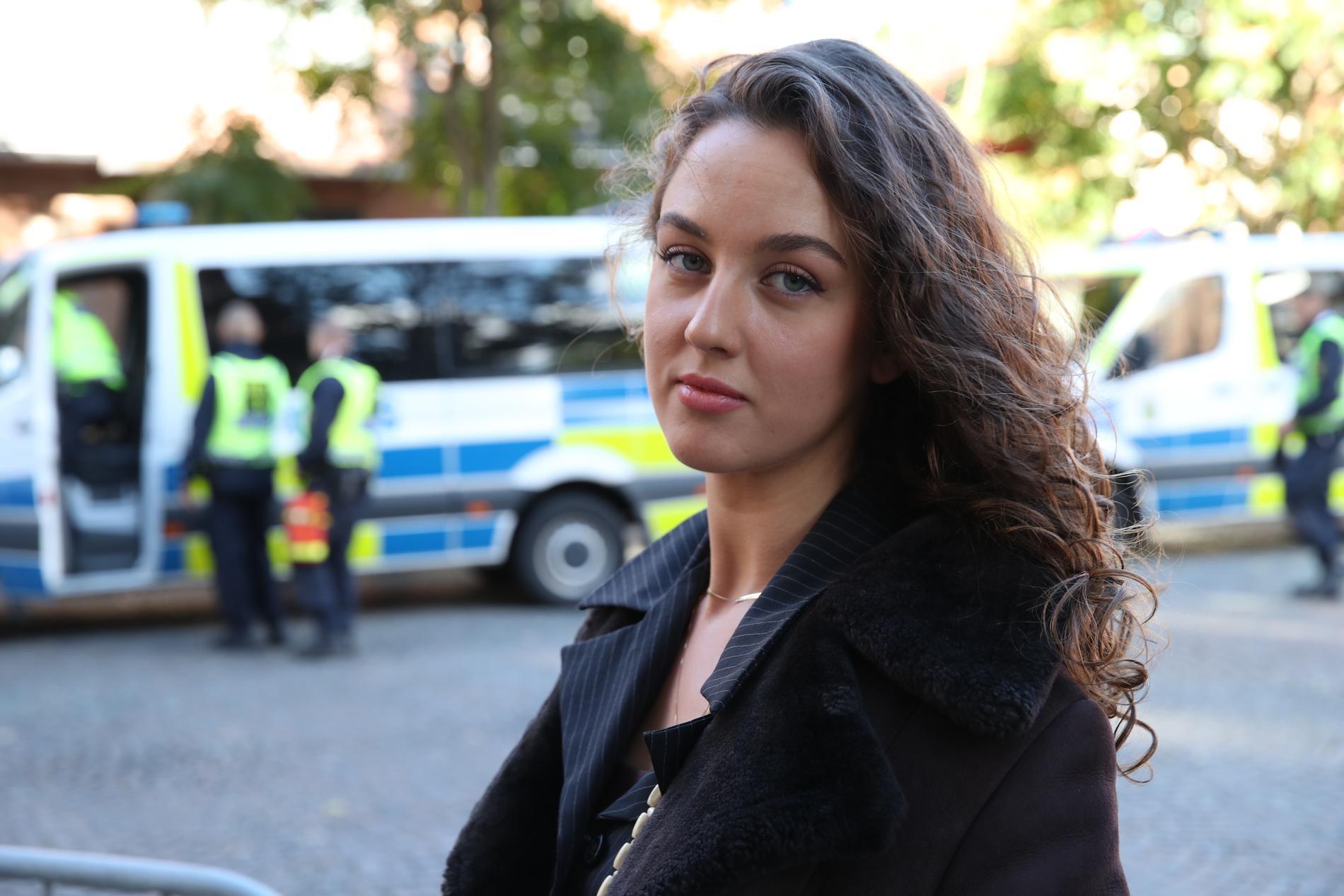 """Salomea Gosenius vill inte böja sig för antisemitismen i Malmö. """"Jag är skyldig min morfars mor och de som dog i Förintelsen att visa min judiska identitet"""", säger hon."""
