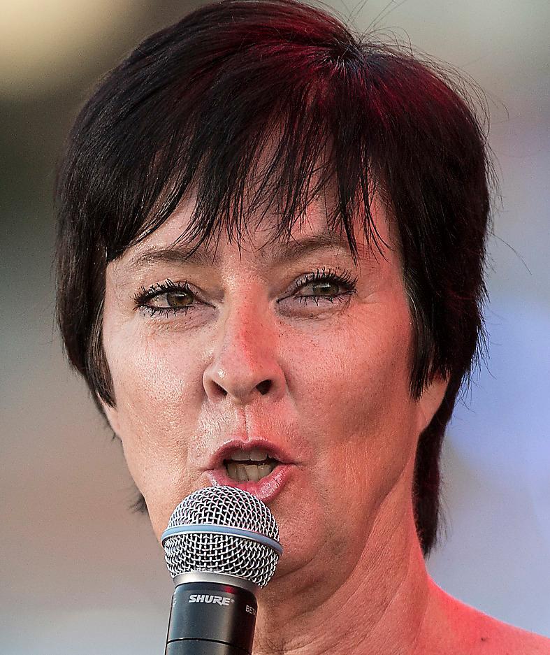 Mona Sahlin, även hon initiativtagare till Höj rösten politikerskola. Foto: Pontus Orre
