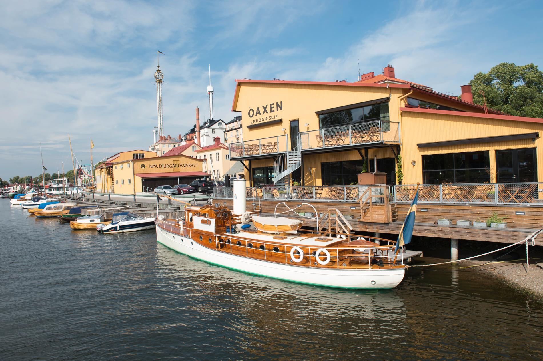 Oaxen Krog är en av alla restauranger på Djurgården.