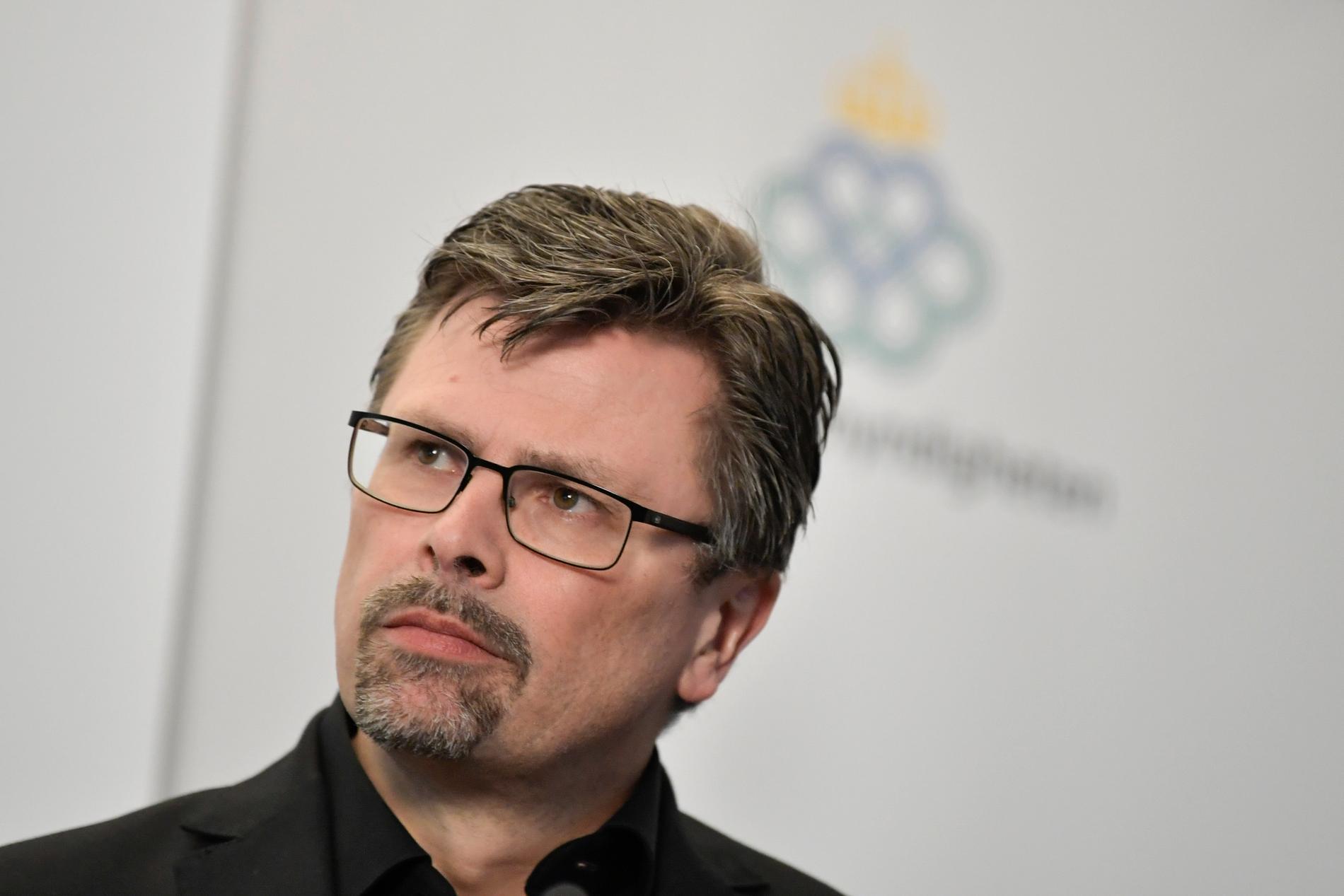 Svante Werger, strategisk rådgivare på MSB.