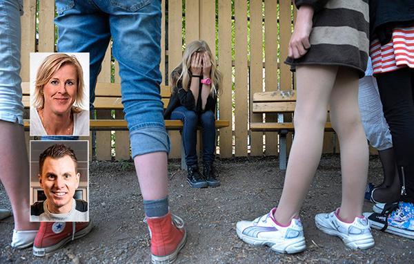 """I dag samlas nya organisationen Soldiers of love för en picknick till stöd för mobbade. Åsa Fahlén och Simon Sandström skriver att de vill se krafttag mot problemet. """"Varje dag mobbas mer än 50000 barn i skolan, i genomsnitt två barn i varje klass"""" och många lärare vågar inte ingripa av rädsla för att bli anmälda."""