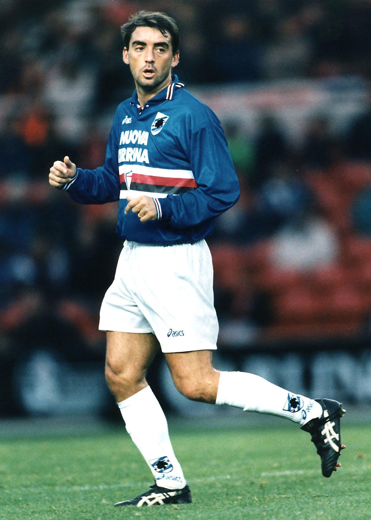 Roberto Mancini i Sampdoria 1996.