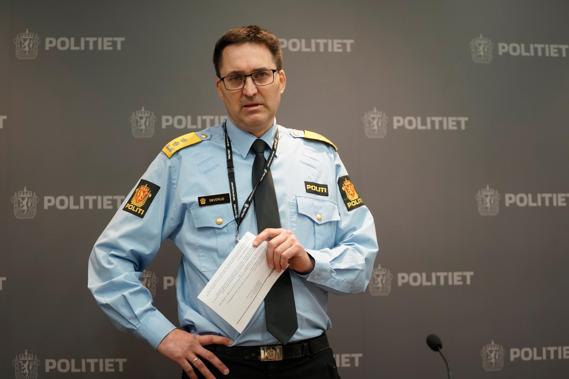 Polischef Ole Bredrup Sæverud.