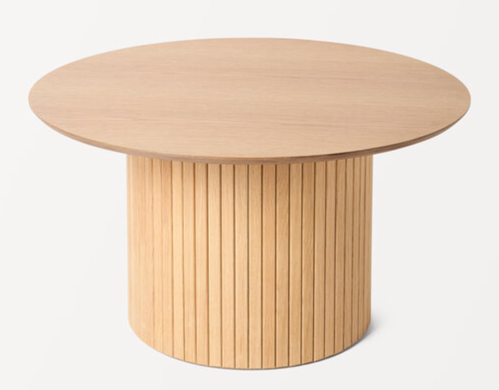 Bord i ekfanér från Åhléns