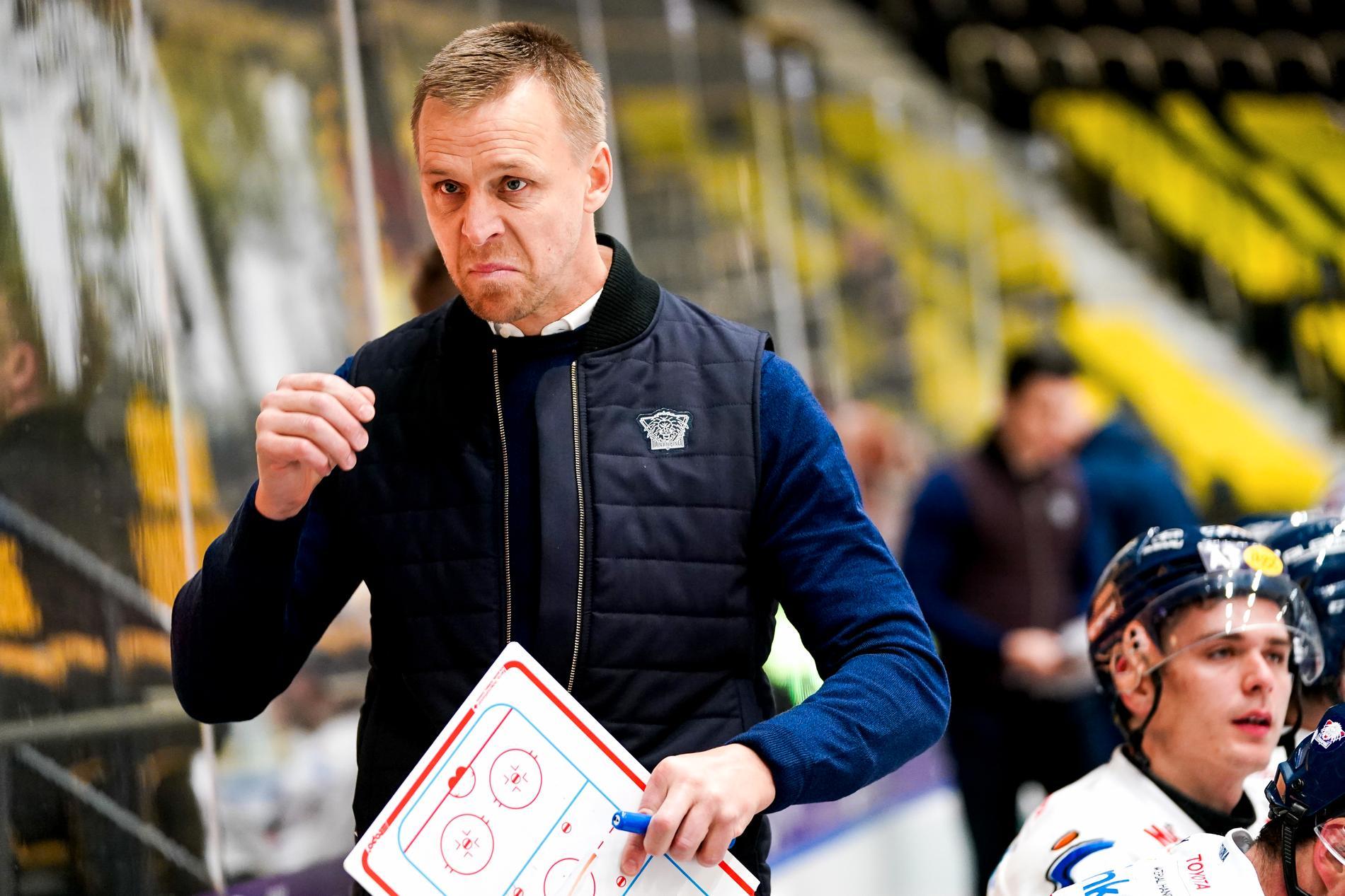 Linköpings tränare Bert Robertsson.