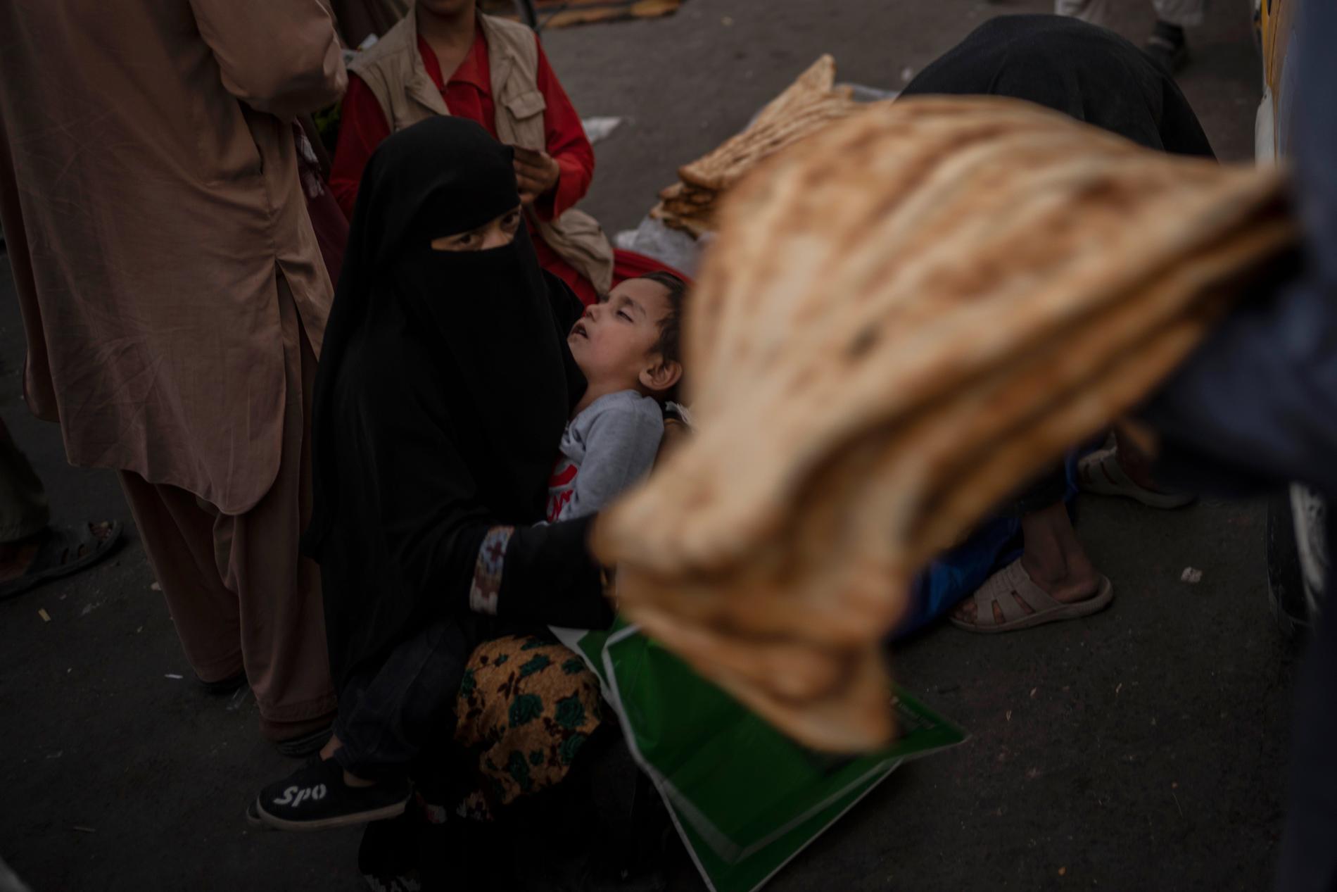 Afghanernas förhållanden har försämrats sedan talibanerna tog makten. Arkivbild.