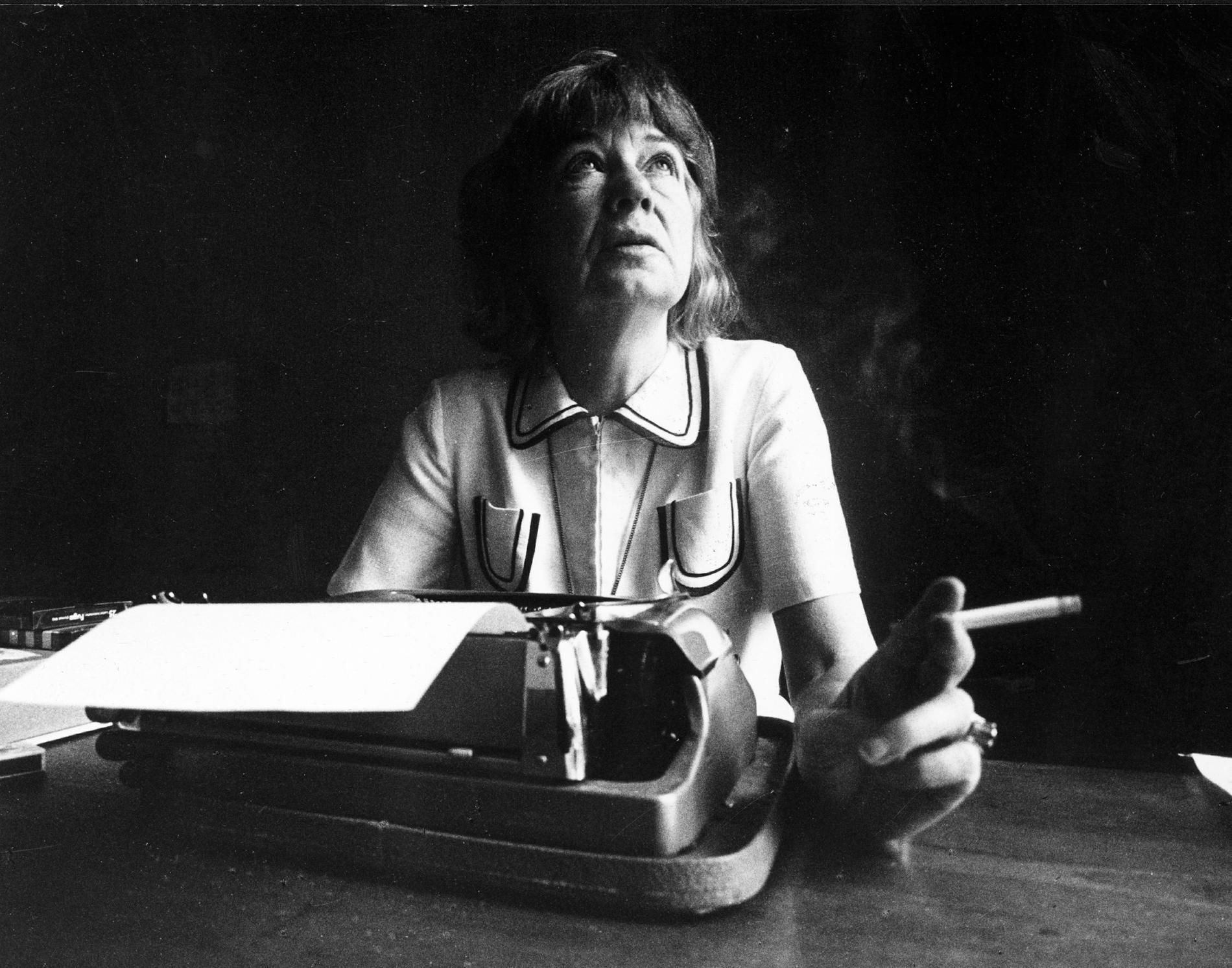 """Tove Ditlevsen (1918–1976) debuterade 1939 med diktsamlingen """"Pigesind"""". Nu ska hennes liv bli tv-serie i fyra avsnitt. Arkivbild."""