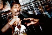 Snoop Dogg kom på besök med kollegan P Diddy.