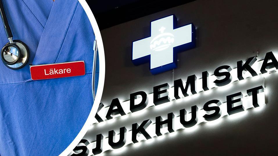 En brottsmisstänkt läkare som tidigare arbetat vid Akademiska har fått nytt jobb i Norge.