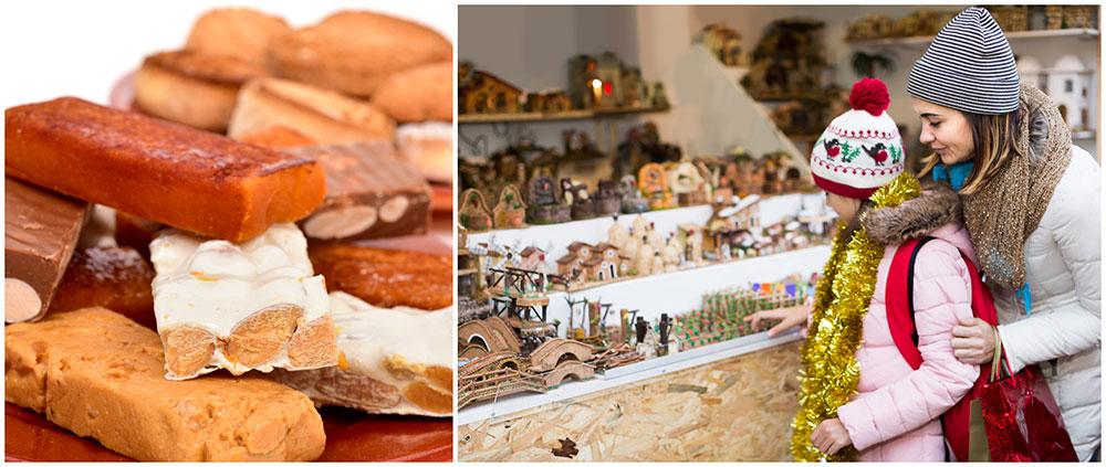 Ät smarriga Turrones i Spanien.