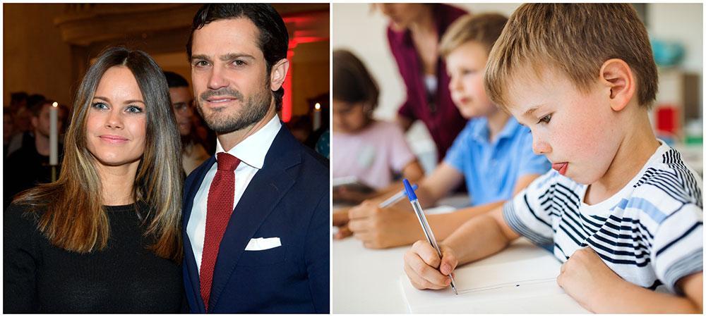 Prinsparet jobbar med frågor kring dyslexi och näthat genom Prinsparets Stiftelse.