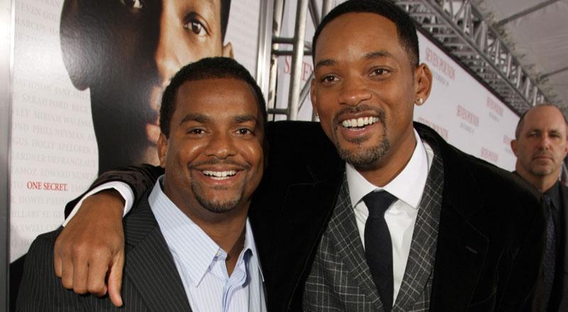 """Alfonso Ribeiro och Will Smith vid premiären av """"Seven Pounds"""" i Westwood, Kalifornien."""