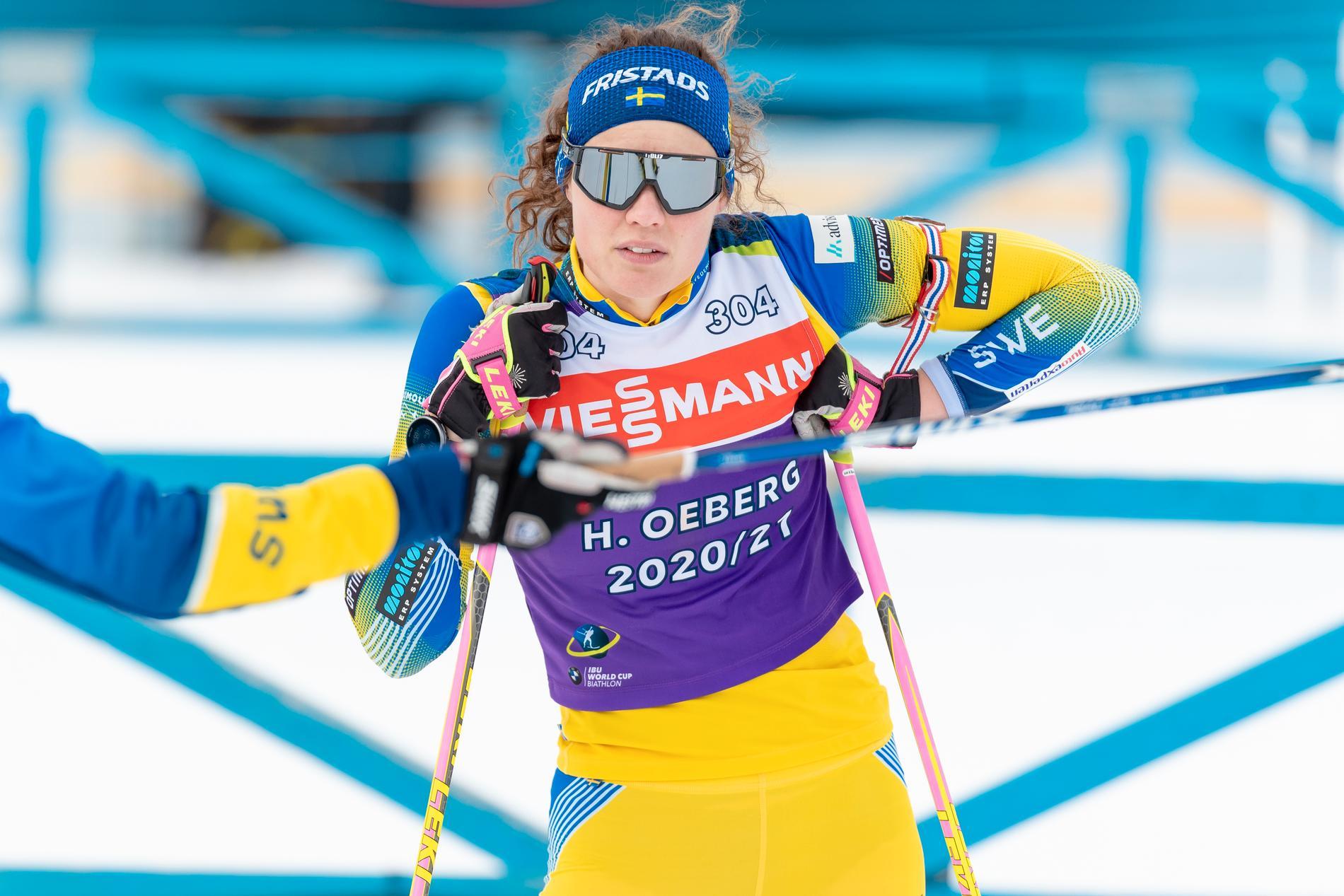 Hanna Öberg är redo för skidskyttets världscupavslutning i Östersund.