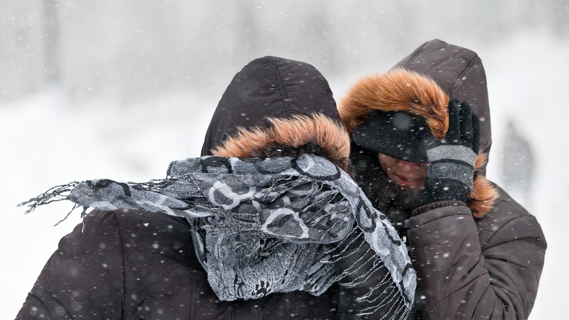 SMHI utfärdar klass 2 varning för snöoväder och starka vindar i Syd- och Västsverige. I vindbyarna kan det handla om stormstyrka. Arkivbild.