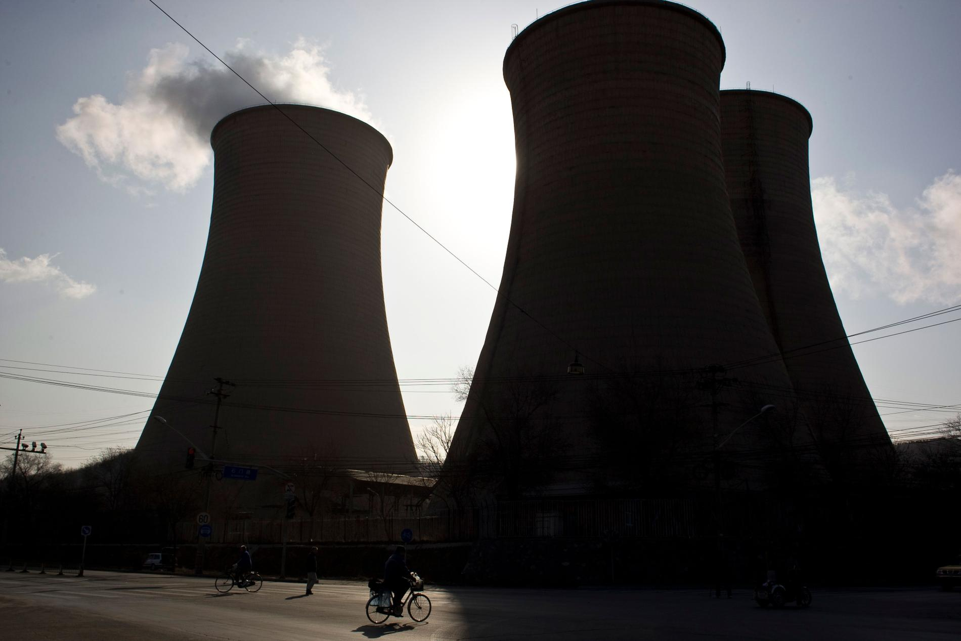 Kolkraftverk i Peking.
