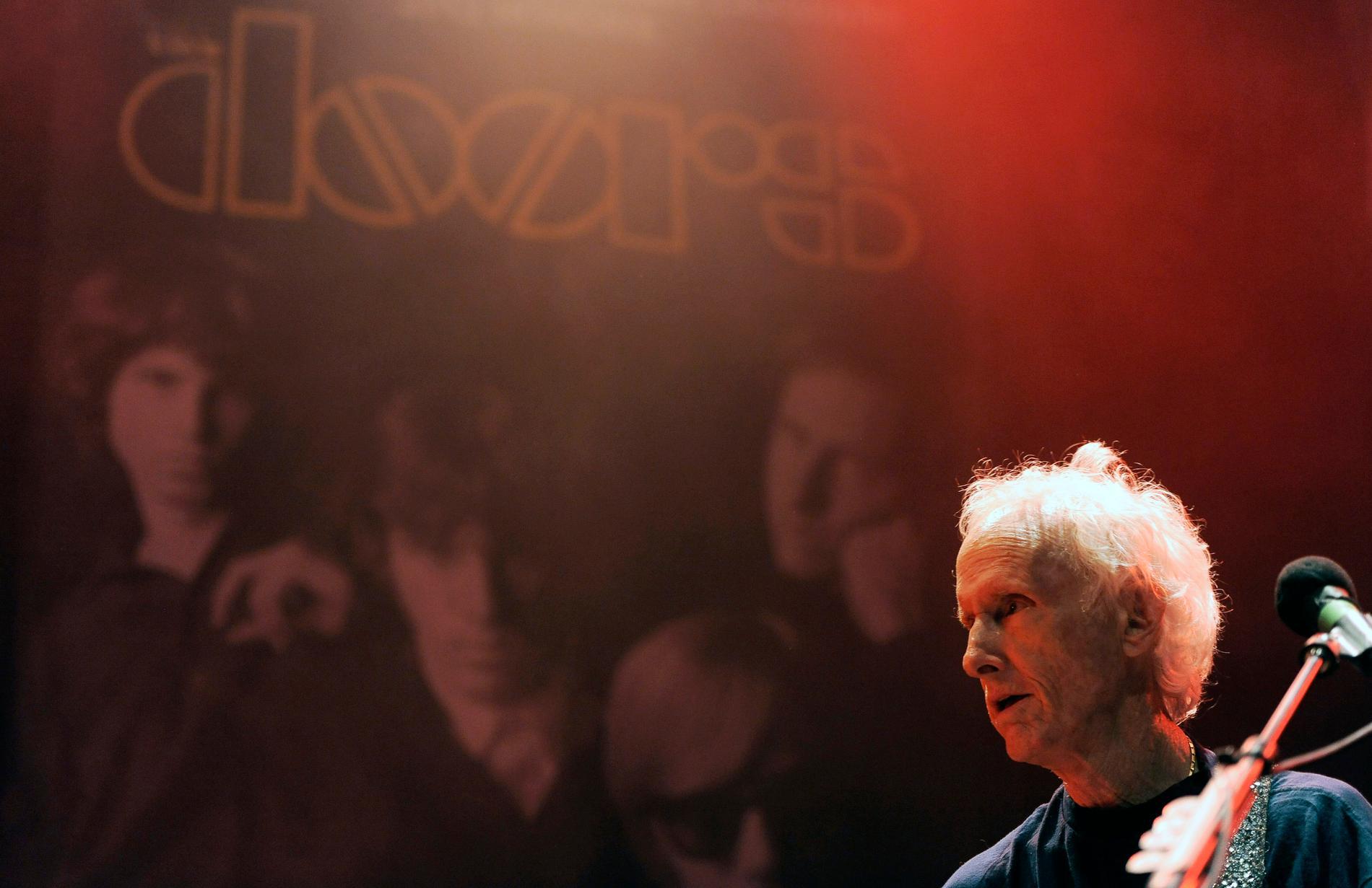 Robby Krieger, gitarrist i The Doors, släpper sina memoarer i oktober. Arkivbild.