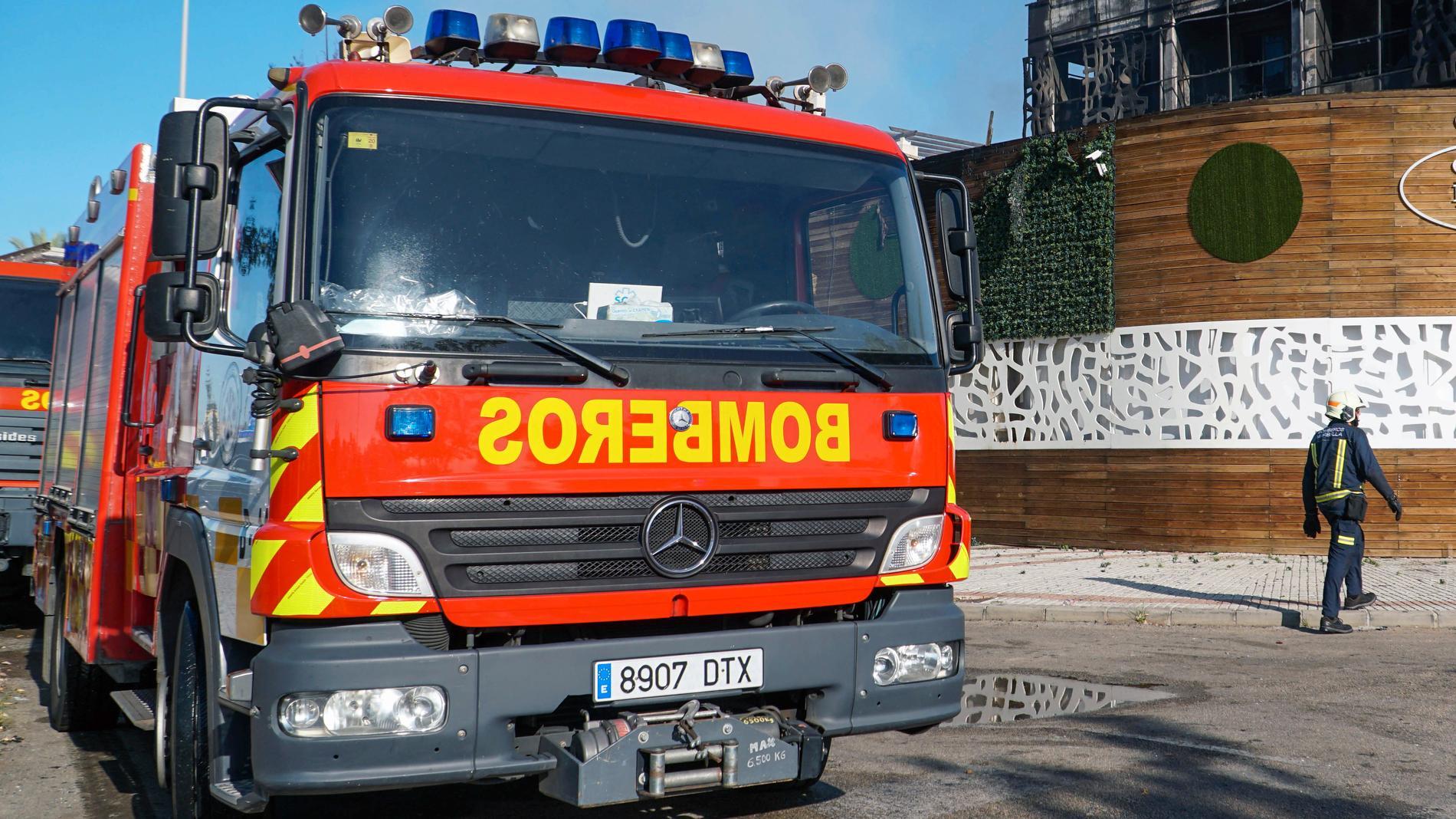 Brandkåren befarar att branden ska växa. Arkivbild.