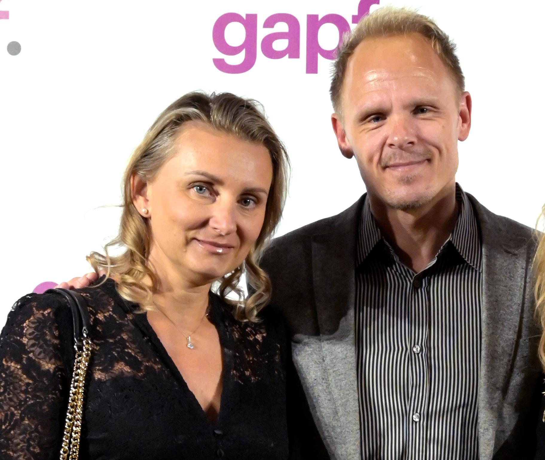 Karolina Macéus och Johan Macéus.