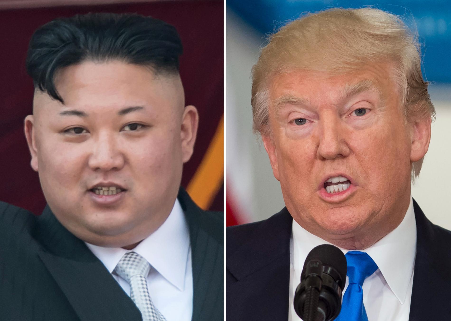 Kim Jong-un och Donald Trump fortsätter att hota varandra.