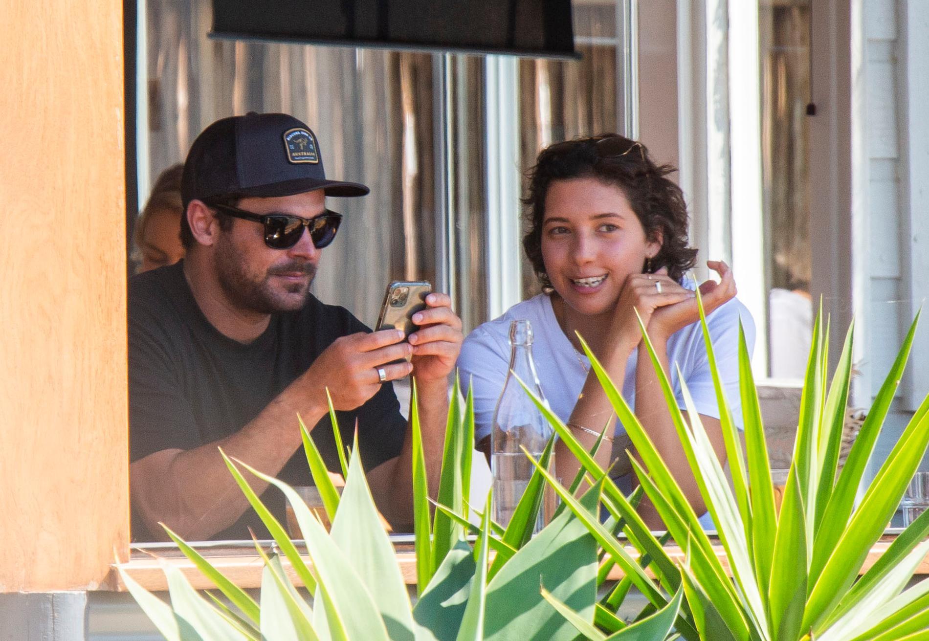 Zac Efron och Vanessa Valladares.